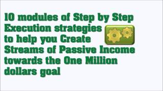 One Million Dollars goal Strategy - Make One Million Dollars in 3years