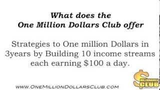 One Million Dollars Club join today - Million Dollar Goal