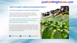 Honest Green Coffee Bean Extract - Improve Digestive Health And Detoxify Body